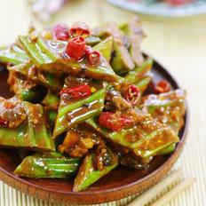 豉椒醬刀豆