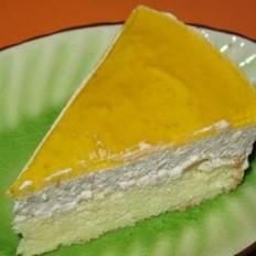 栗子芝士慕司蛋糕