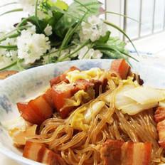 白菜豬肉燉粉條