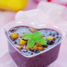 芒果椰汁黑糯米