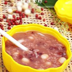 蓮子百合紅豆粥