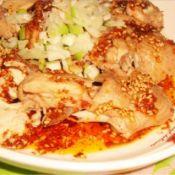 葱香辣味鸡