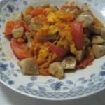 西红柿炒鱼丸
