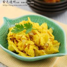 橄榄油榨菜炒鸡蛋