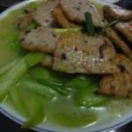 香菇肉饼炒丝瓜