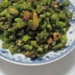 豆豉辣椒炒油渣