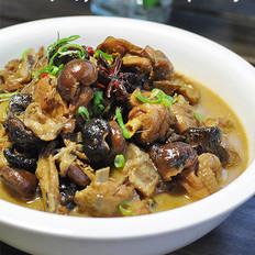 野香菇炖柴鸡