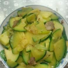 家常炒菜瓜
