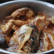 辣味鱼炖干豆腐