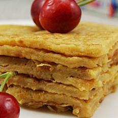 红萝卜苹果渣饼
