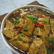香辣红烧豆腐