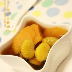 栗子番薯糖水