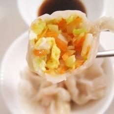 山笋西葫芦鸡蛋饺