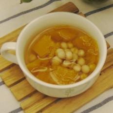 南瓜鸡头米汤