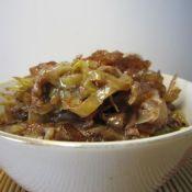 粉条虾酱圆白菜
