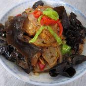 五香肉炒双椒