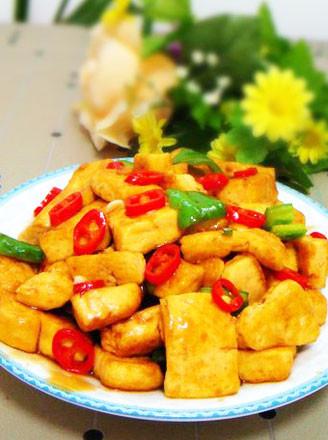 家常烧豆腐的做法