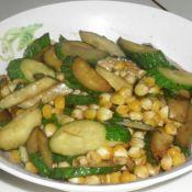 黄瓜炒玉米