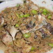 冬菜毛豆黑鱼