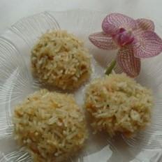 鸡肉鲜疏米饭团