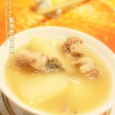 粉葛煲鲫鱼汤