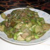 丝瓜香菜辣炒肉