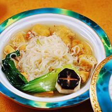 海鲜汁米粉豆泡丁菜羹