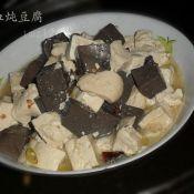羊血炖豆腐
