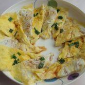 鱼香鸡蛋小煎饼