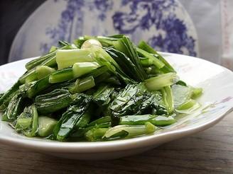 蒜香油麦菜的做法