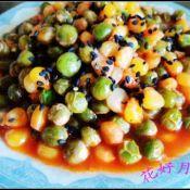 豌豆玉米番茄烩