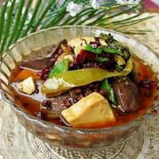 酸菜烧血豆腐