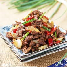 泡椒炒鸭肉