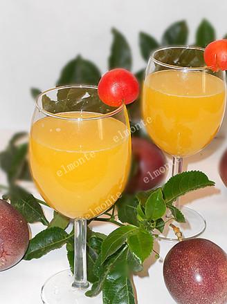 百香果汁的做法