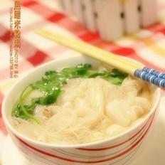 鱼鳔米粉汤