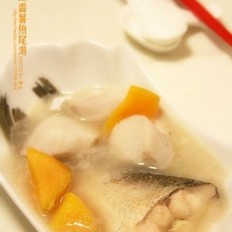 芋头番薯鱼尾汤
