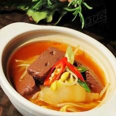 韩式猪血汤