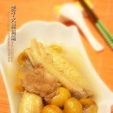 栗子火腿鸡汤