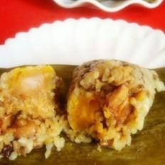 蛋黄香菇肉粽