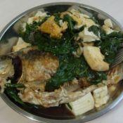 鲫鱼青菜炖豆腐