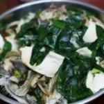 豆腐青菜煮鱼