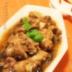 香菇蒸鸡腿肉