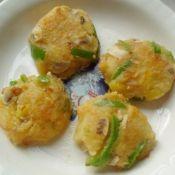 香菇青椒土豆饼