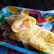芦荟椰果蛋香奶油卷
