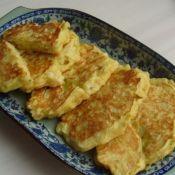 虾仁土豆鸡蛋饼