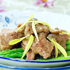 菊香芦笋牛肉