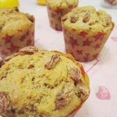 奶香栗子马芬蛋糕
