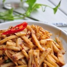 牛肉酱炒藕条