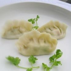 黄瓜虾仁馅饺子