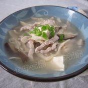 杂菇豆腐汤的做法
